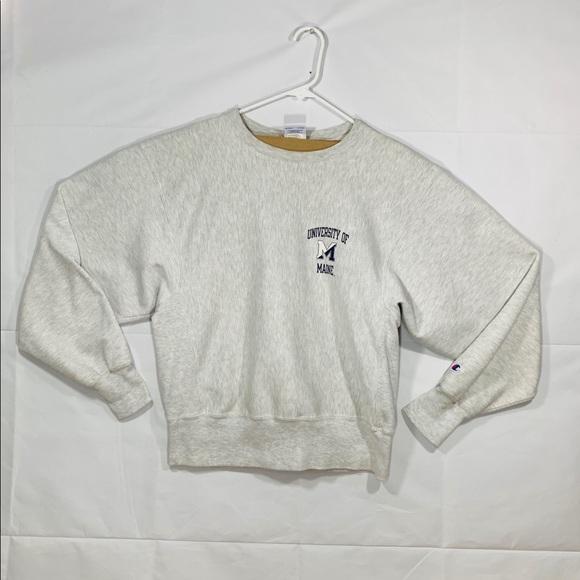 9b6d283e996d Champion Sweaters | University Of Maine Crewneck Sweater | Poshmark